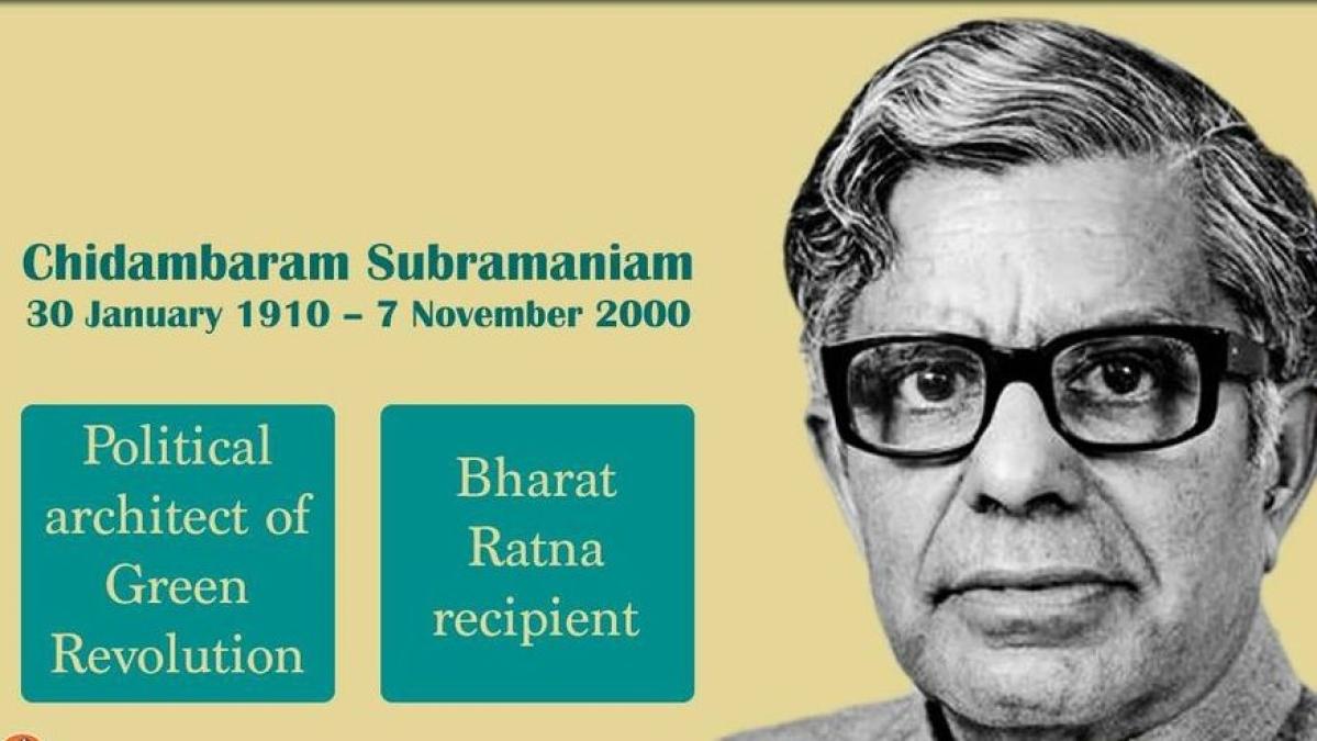 Chidambaram Subramaniam birth anniversary: Lesser-known facts about the 'Bharat Ratna' recipient who ushered the 'Green Revolution'
