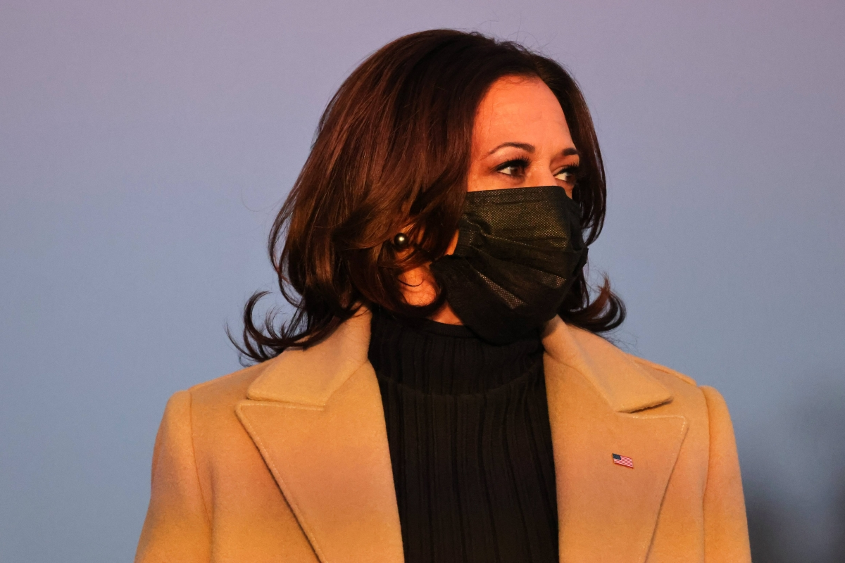 My 1st job was cleaning laboratory glassware in mother's lab: US VP Kamala Harris