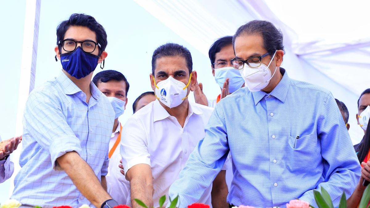 Mumbai: Maha CM Uddhav Thackeray launches Coastal Road Tunnel Boring Machine at Priyadarshini Park