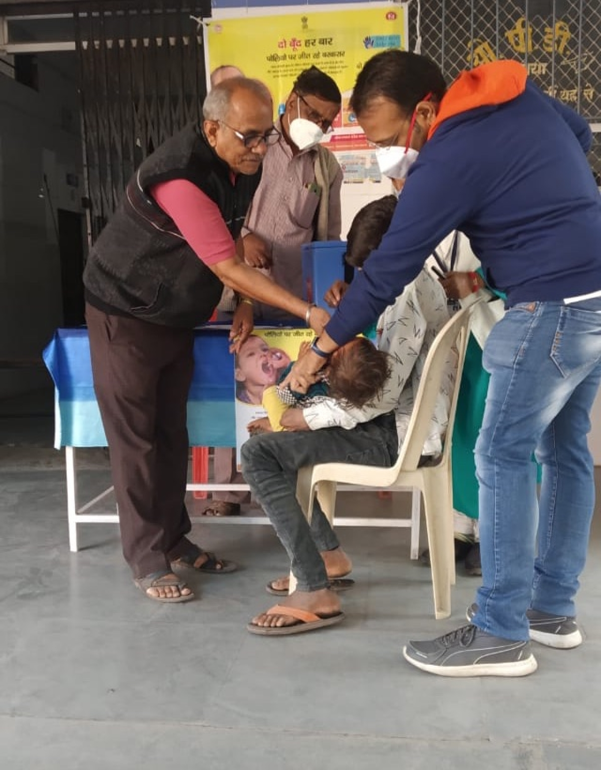 Madhya Pradesh: Pulse Polio Campaign underway in Malwa-Nimar