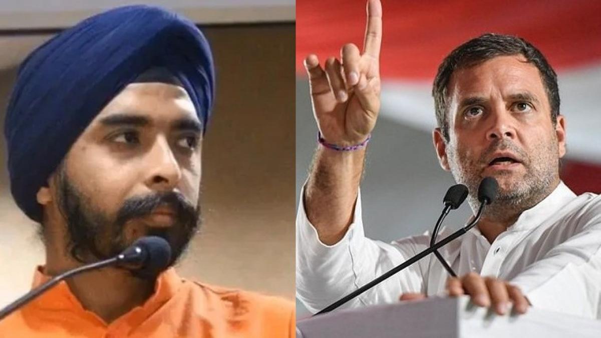 'Delhi BJP supports the resolution': Tajinder Bagga takes a potshot after Delhi Congress passes resolution to make Rahul Gandhi 'party president'