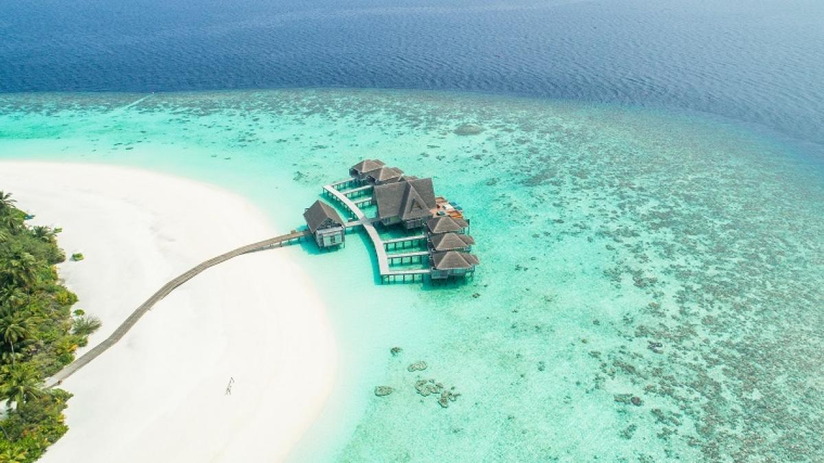 Kihavah huravalhi island, Maldives