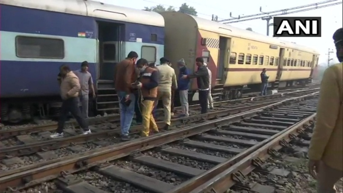 2 coaches of Shahid Express derail in Lucknow, no casualty reported