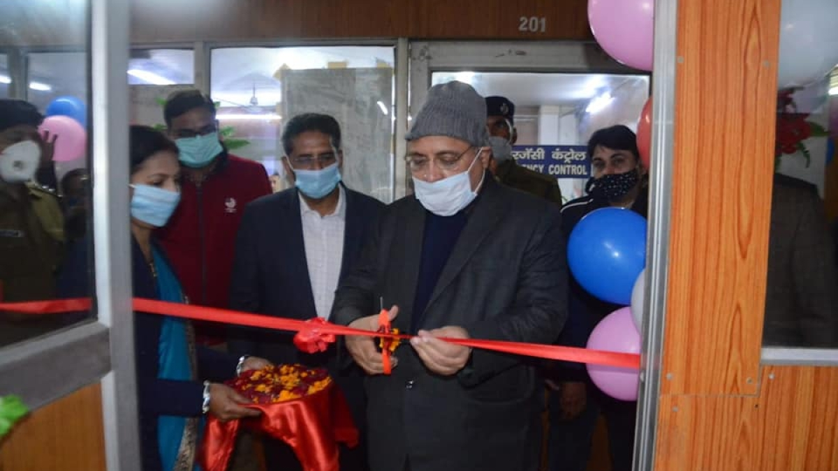 Lalit Chandra Trivedi General Manager, East Central Railway inaugurates IP based VSS at 13 stations of ECR