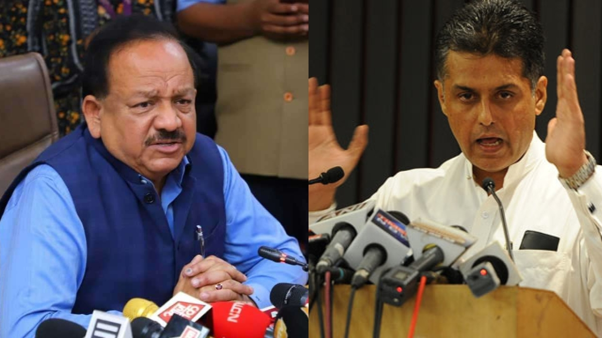 COVID-19 Vaccination: Congress' Manish Tewari in Twitter feud with Health Minister Harsh Vardhan over 'Covaxin' approval