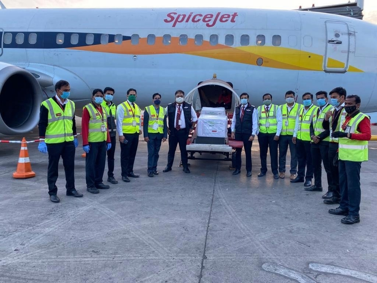 Vaccine movement begins, 4 airlines to fly 56.5 lakh doses from Pune to 13 cities today