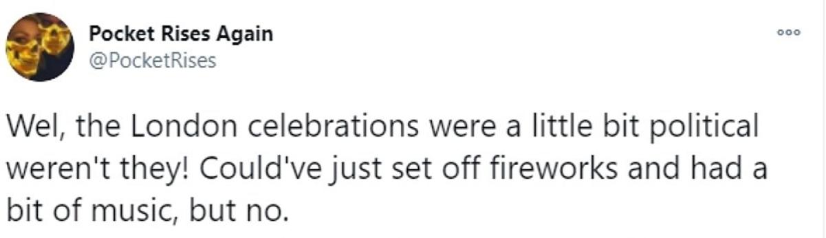 London mayor Sadiq Khan trolled over 'woke' fireworks on New Year's Eve