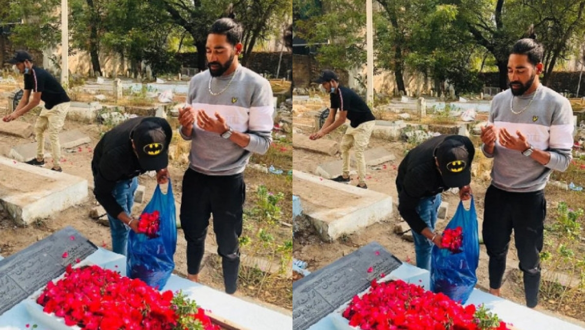 Mohammed Siraj pays tribute to late father immediately after returning from Australia