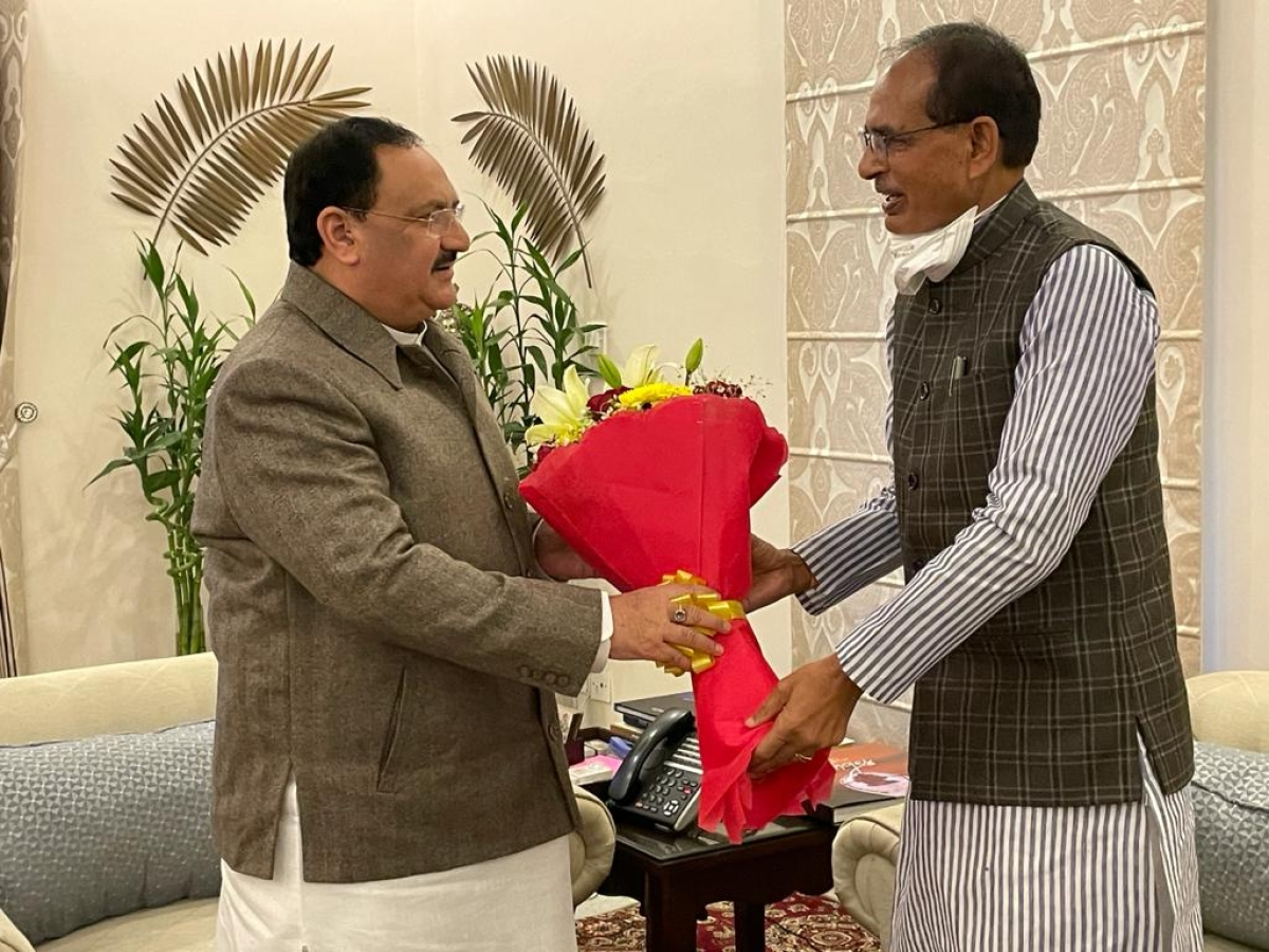 Madhya Pradesh Chief Minister Shivraj Singh Chouhan seeks outstanding amount from Union ministers