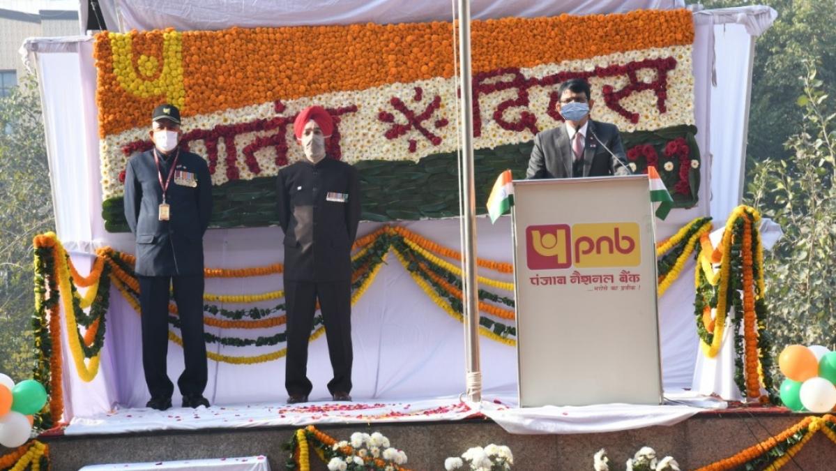 Punjab National Bank celebrates 72nd Republic Day