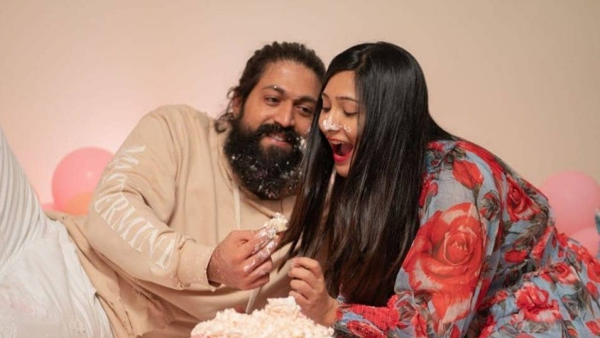 'Why you are so perfect': 'KGF' star Yash gets a sweet birthday post from wife Radhika Pandit