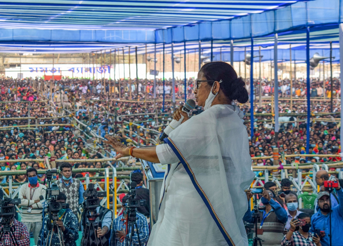 West Bengal: BJP is a 'junk' party, says CM Mamata Banerjee