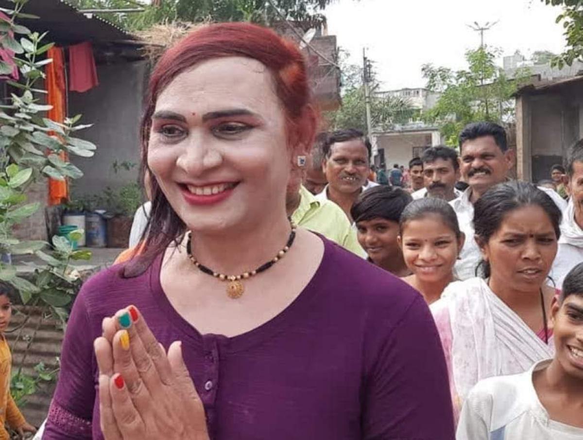 Maharashtra Gram Panchayat Election: VBA's transgender candidate wins big in Jalgaon