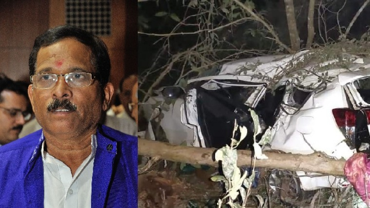 Union Minister Shripad Naik injured in a car accident; wife, close aide dead