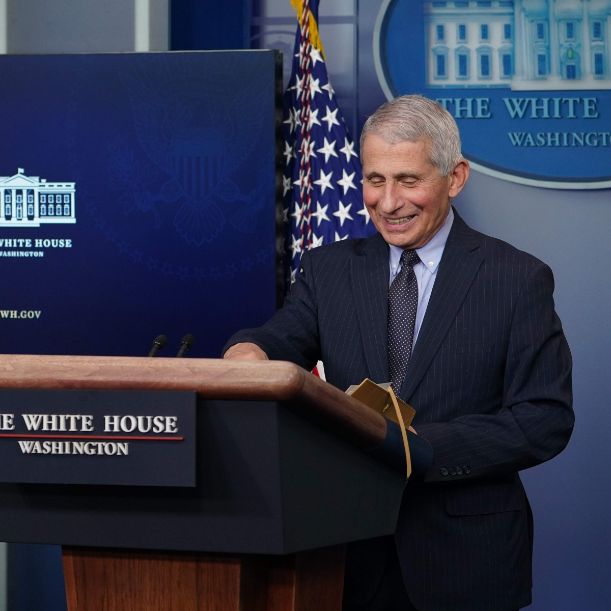 'Liberating feeling': As Dr Fauci cheers Biden administration; Twitter says he now looks 'ten years younger'