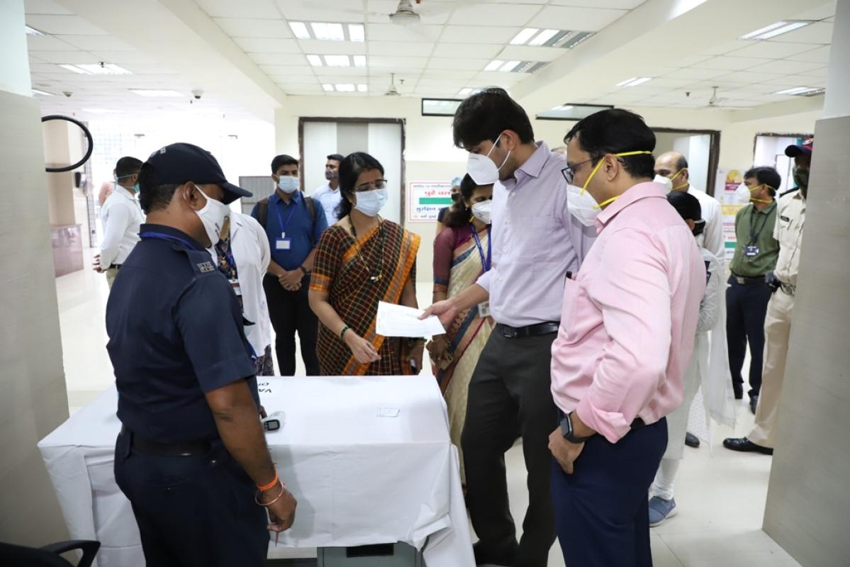 Navi Mumbai Municipal Corporation, Panvel Municipal Corporation vaccine dry run goes smoothly