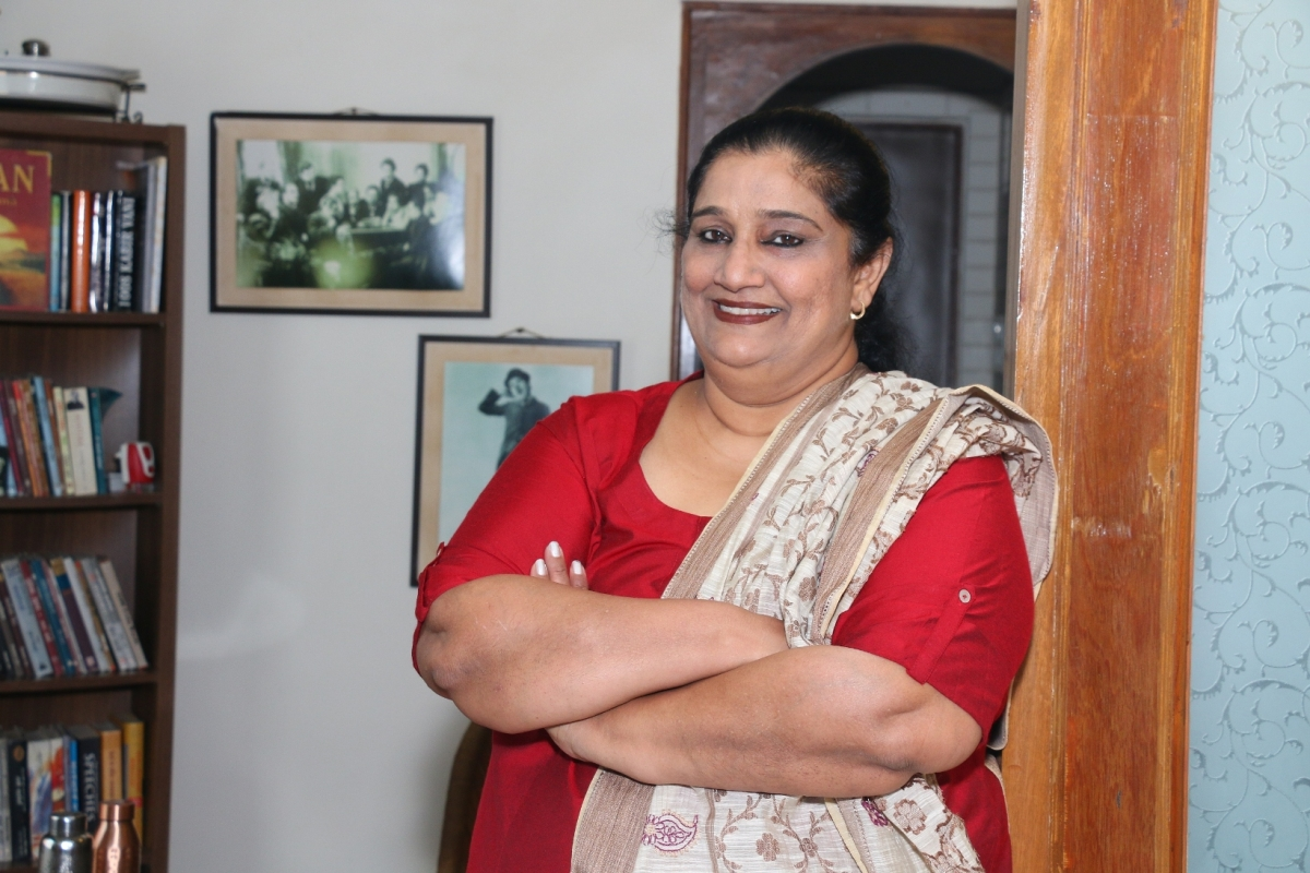 I didn't have any ambition of becoming a director: Seema Pahwa