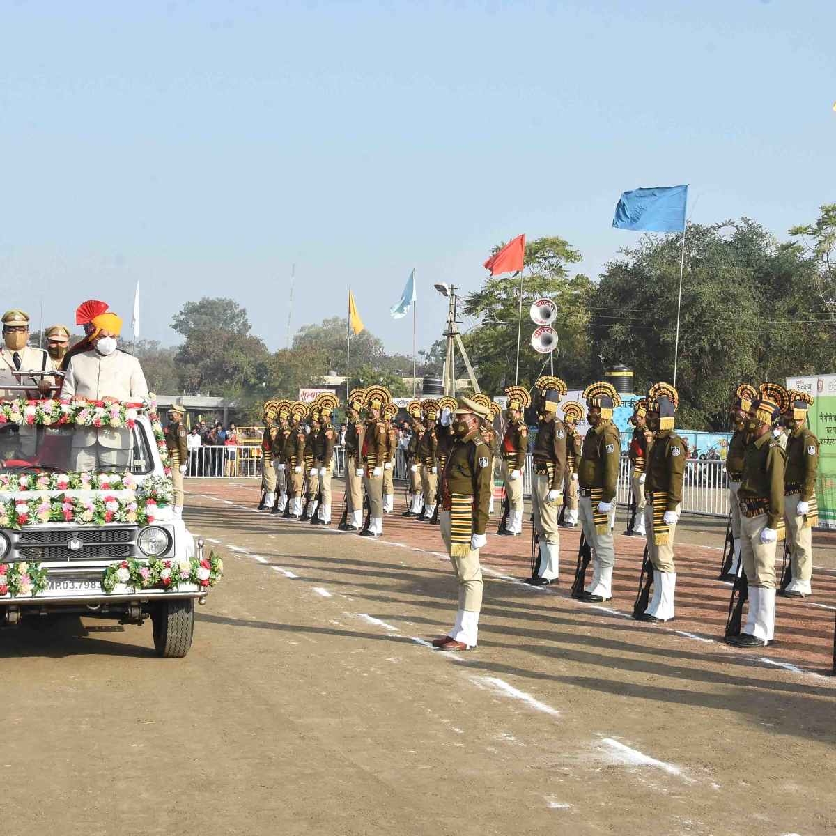 Ujjain: Republic Day celebrated with zeal and fervour