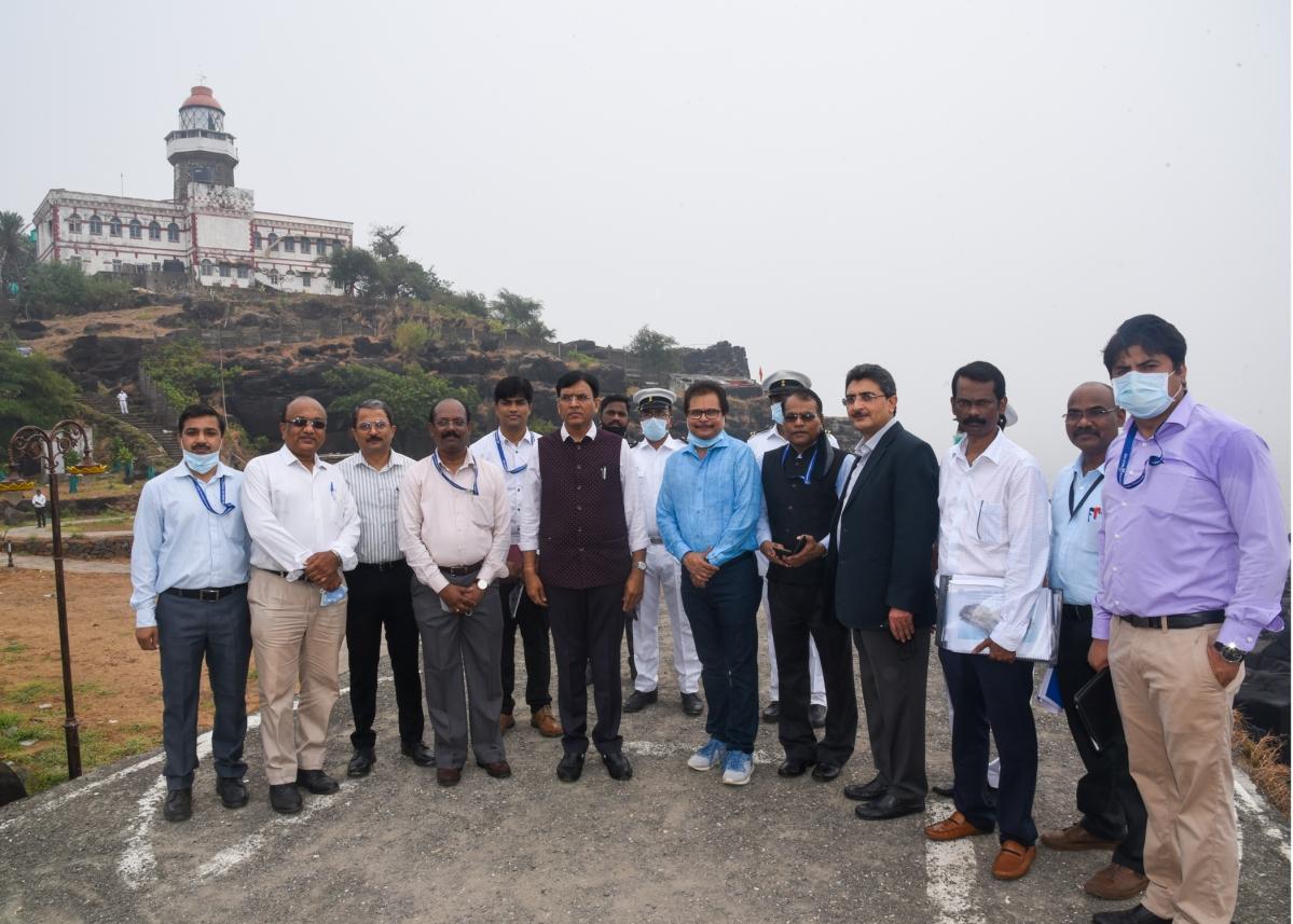 Shipping Minister Mansukh Mandaviya visits Mumbai Port Trust
