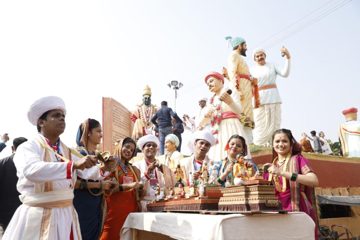 Republic Day parade: Maharashtra tableau depicts its link with 'Bhakti' and 'Shakti'