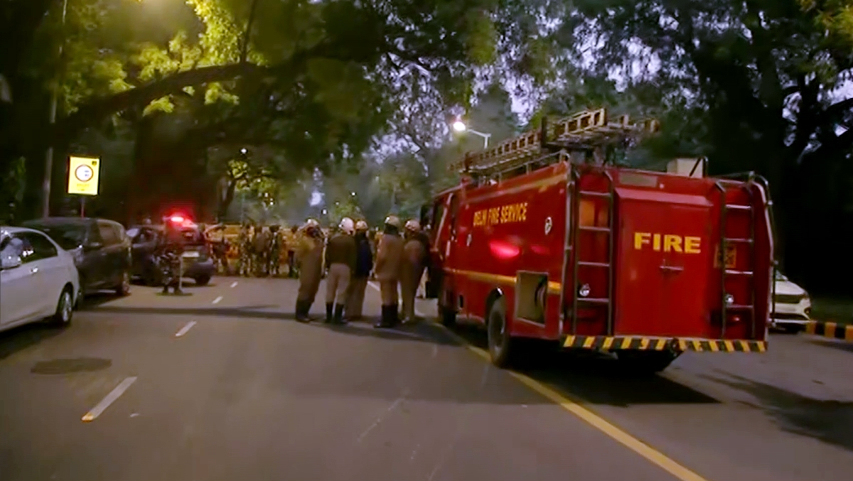 Blast outside Israeli Embassy: CISF issues alert at all airports, government buildings in Delhi