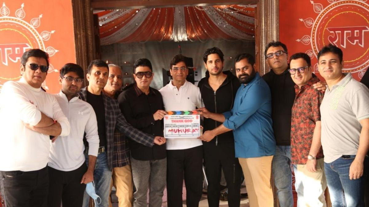 Thank God: Shoot begins for Ajay Devgn, Rakul Preet Singh, Sidharth Malhotra's comedy film
