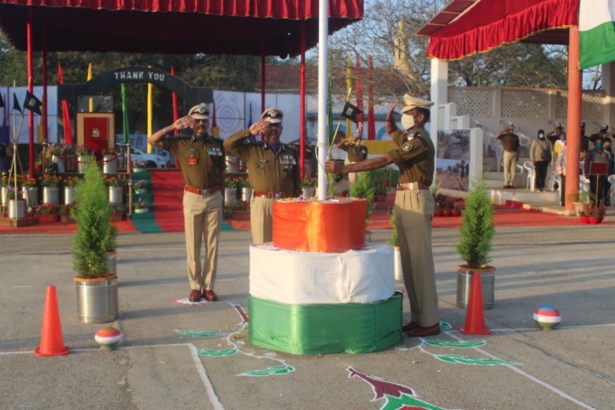 Madhya Pradesh: 68 CRPF personnel receive medals in Neemuch