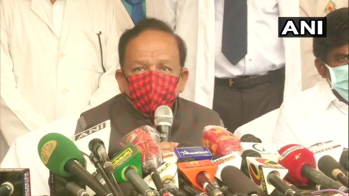 Union Health Minister Dr Harsh Vardhan