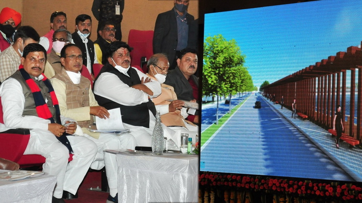CM watches presentation on projects