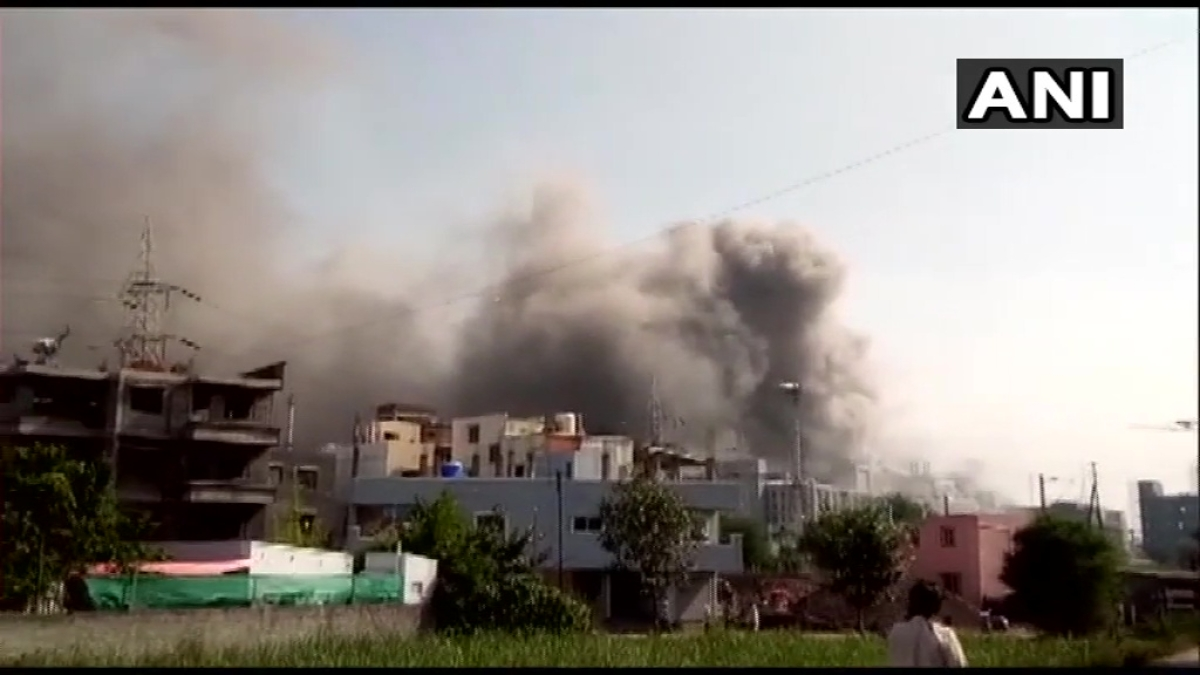Pune: Fire breaks out at Serum Institute of India