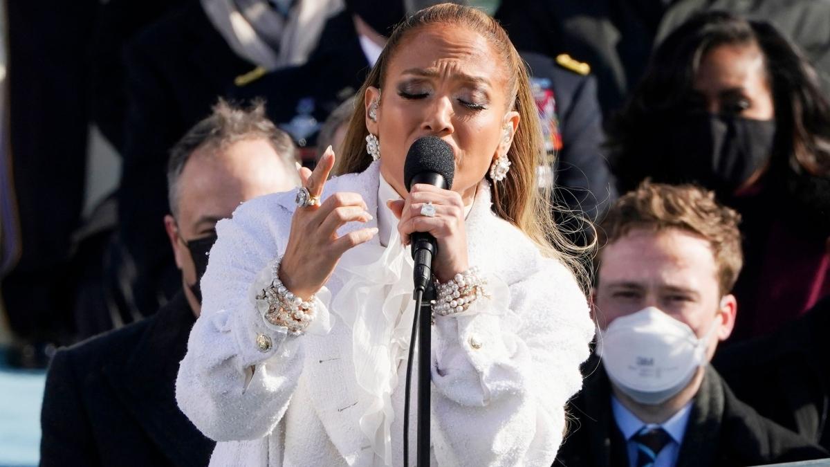 Watch: Jennifer Lopez's power-packed performance at Joe Biden's inauguration