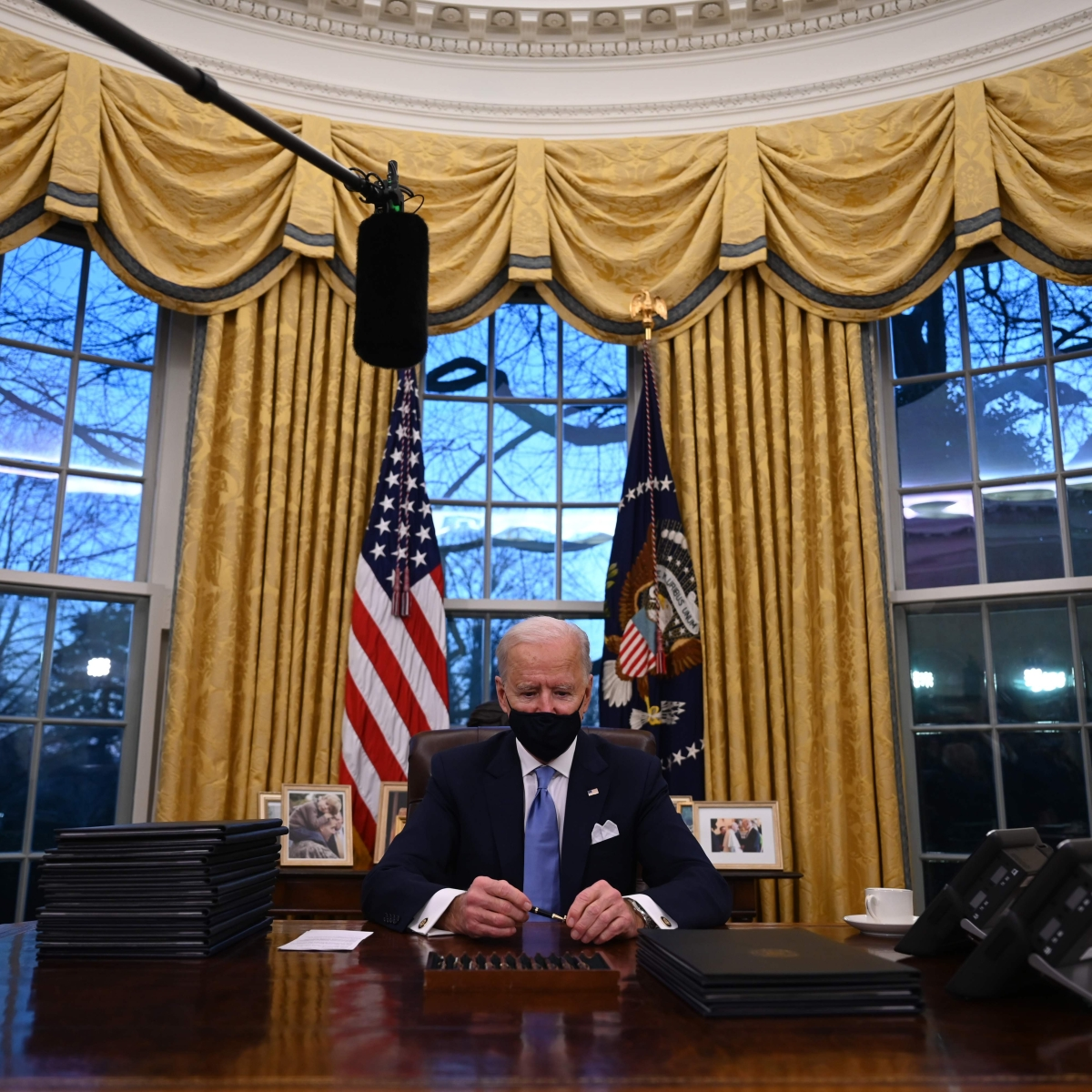 President Biden reverses Trump-era policy that barred transgenders from serving in military
