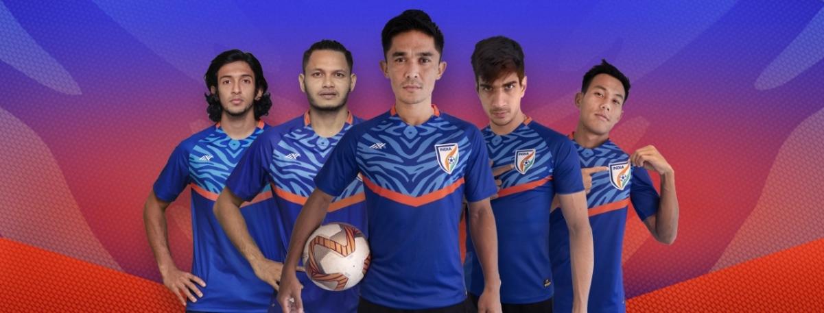 AIFF'S Kit Partner SIX5SIX Unveils New Indian Football Team Kits