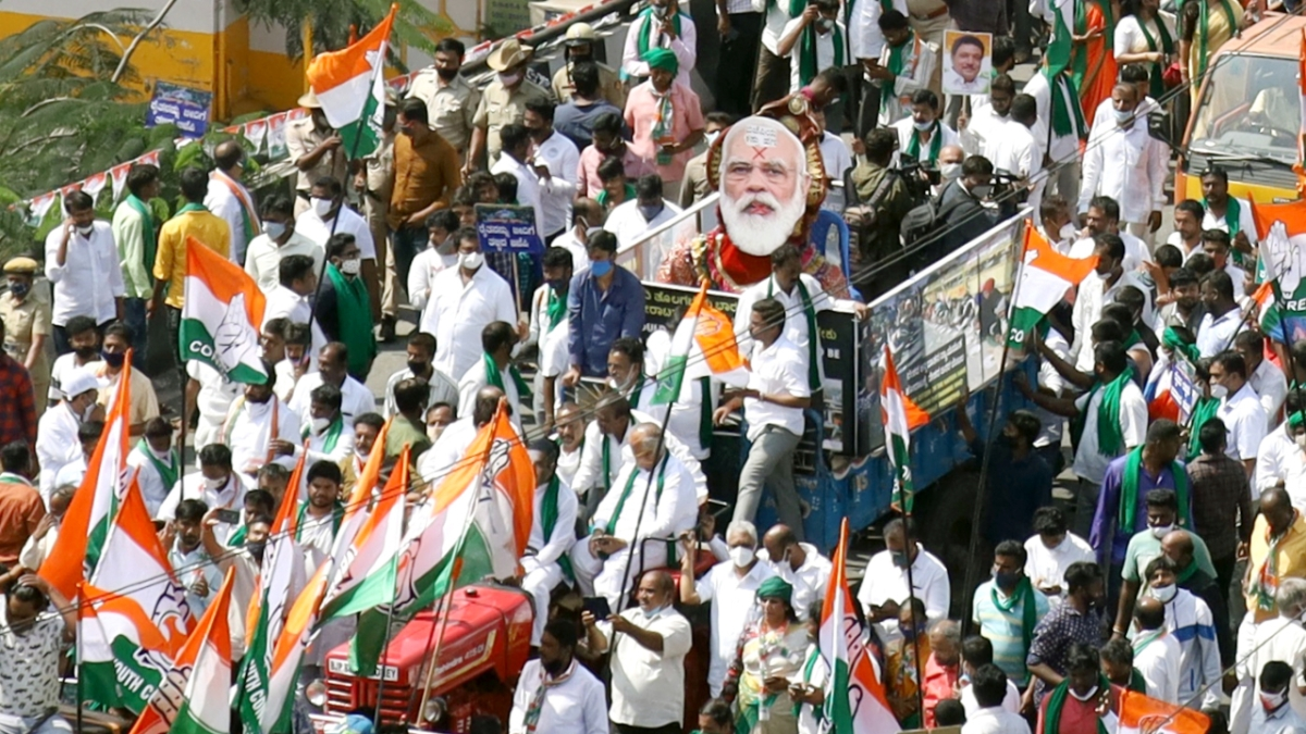 Farmers to hold protest rally over farm laws in Mumbai
