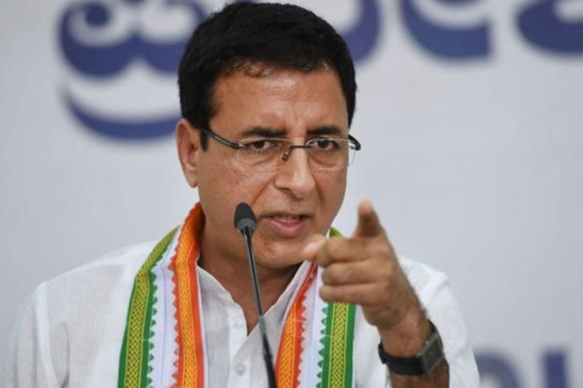 Congress official spokesperson Randeep Singh Surjewala