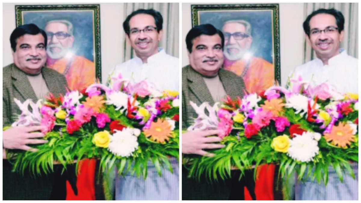 Mumbai: Union Minister Nitin Gadkari to hold meeting with Maharashtra CM Uddhav Thackeray today