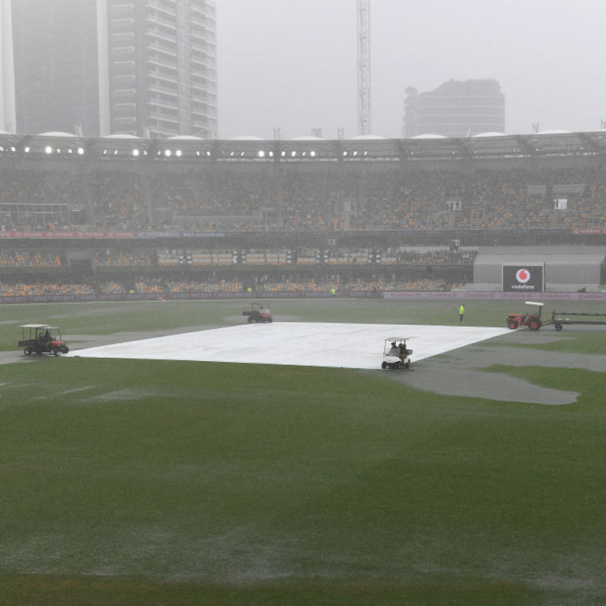 Ind vs Aus, 4th Test: Rain washes out final session as Rohit Sharma's wicket gives hosts slight edge