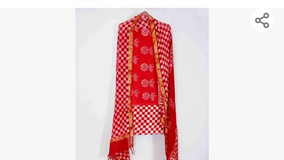 Clothing designed with Bhairavgarh print.