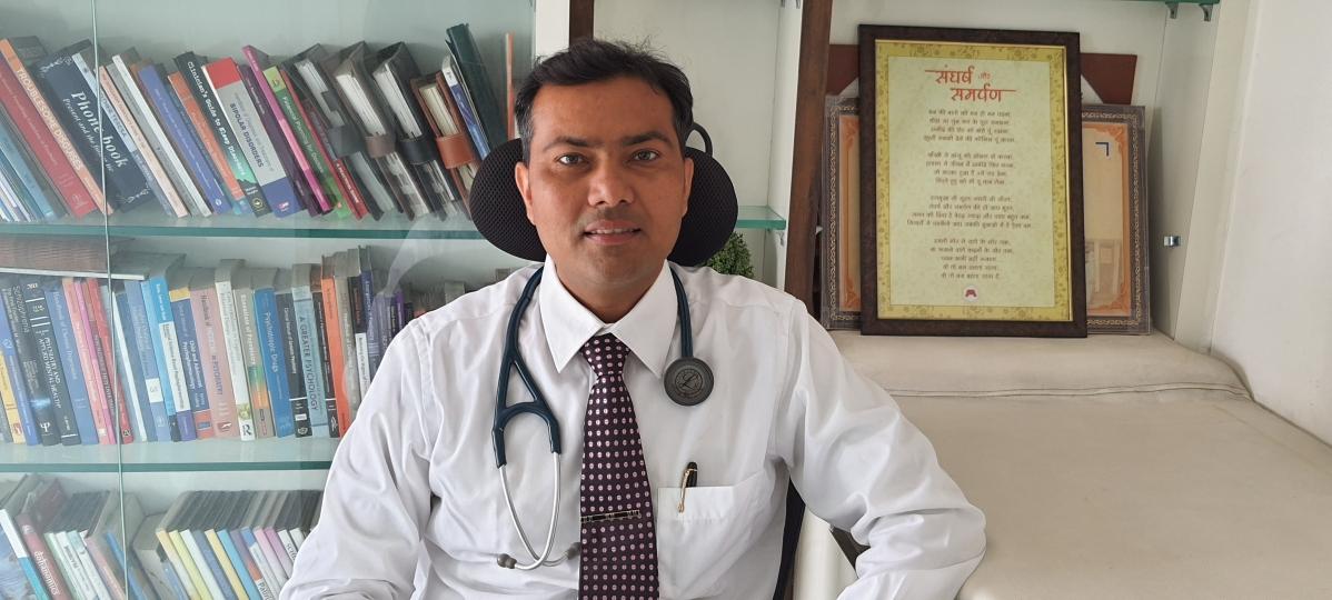 Psychiatrist Dr Pawan Rathi