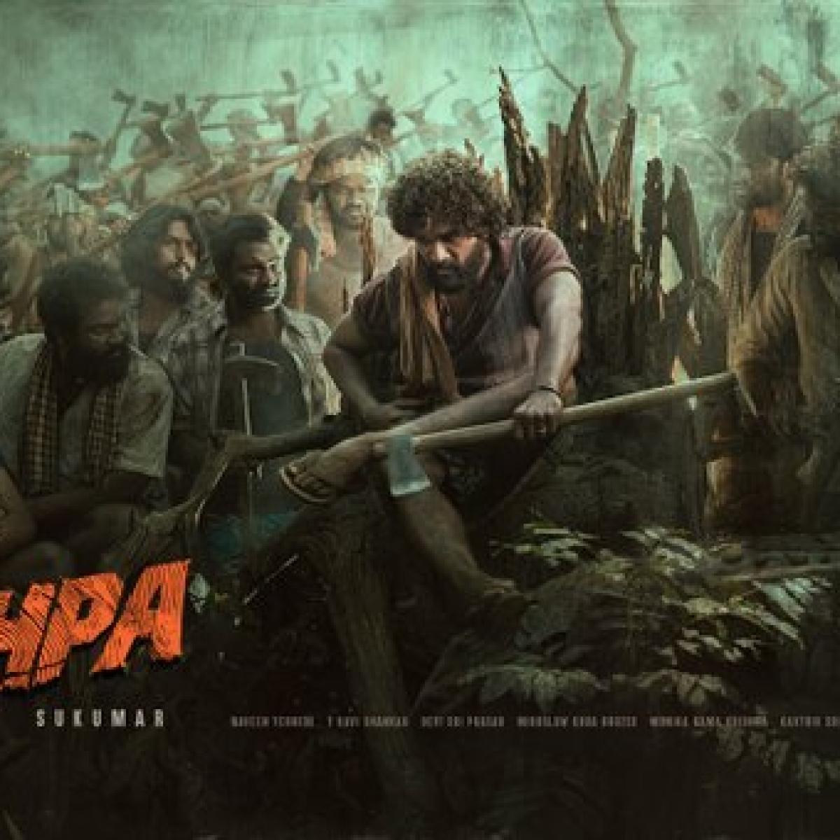 Allu Arjun looks unrecognizable in upcoming action thriller 'Pushpa'