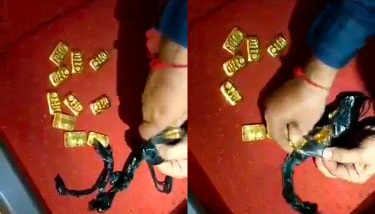 Mumbai: Customs find gold worth Rs 73 lakh hidden beneath aircraft seat at Mumbai Airport