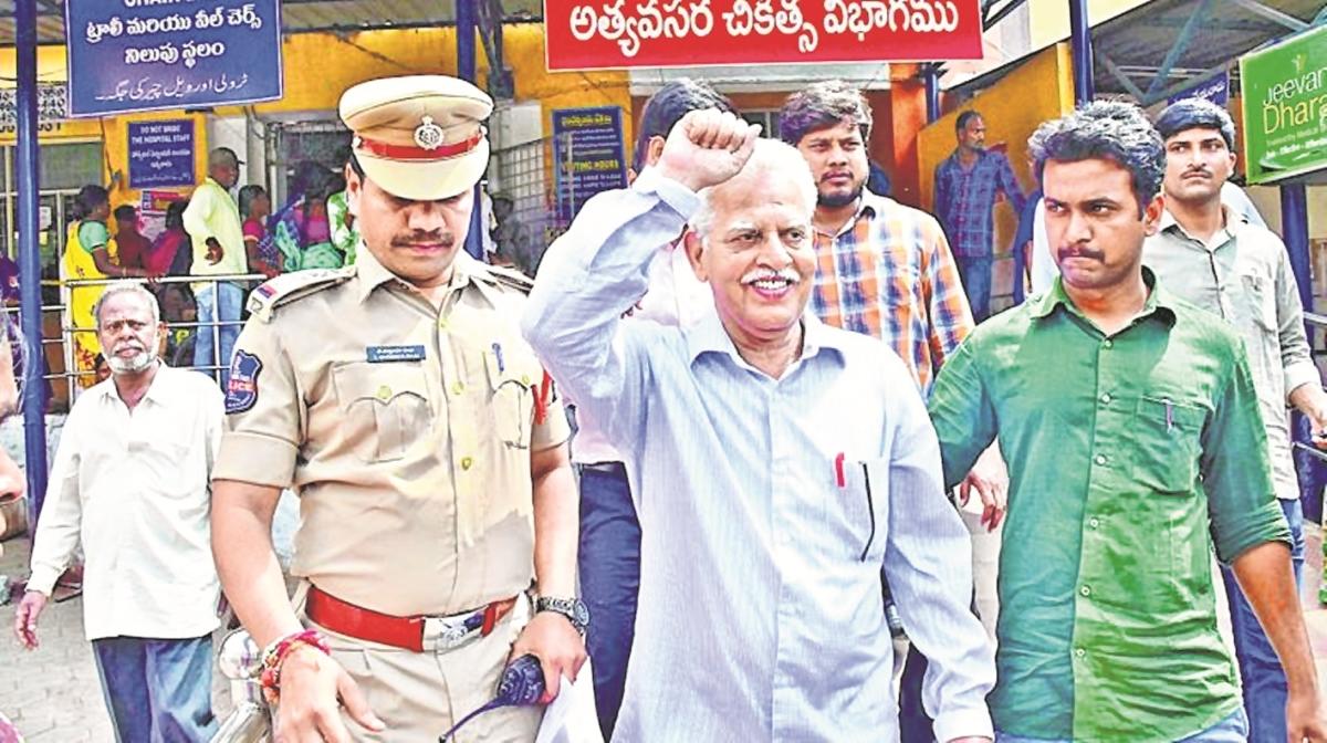 Taloja jail does not have apt infra to monitor Varavara Rao's health: Counsel