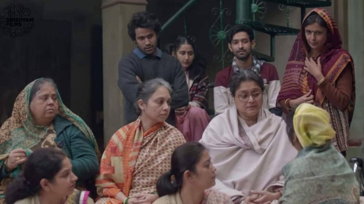 A still from the movie, Ramprasad Ki Tehrvi