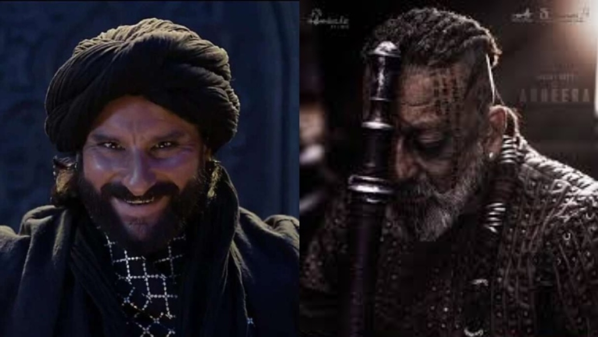 From Saif Ali Khan in 'Adipurush' to Sanjay Dutt in 'KGF Chapter 2': Big Bollywood heroes go bad on screen