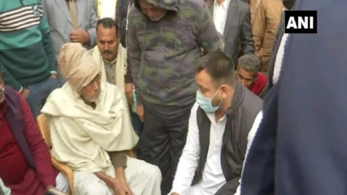 Bihar: Tejashwi Yadav meets kin of slain IndiGo executive Rupesh Singh, urges 'weak CM' Nitish Kumar to control crime