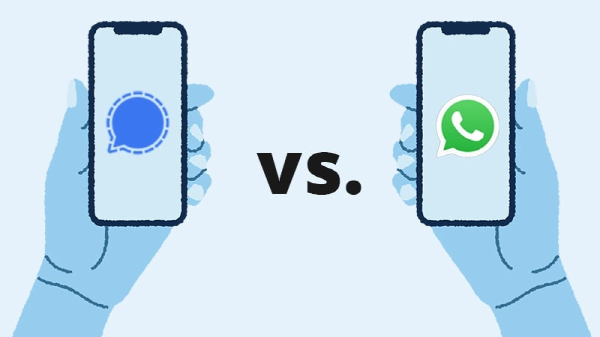 Signal or WhatsApp? Which messaging app is better in terms of security