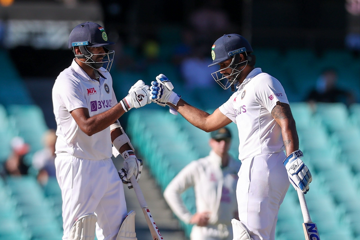 Bruised and abused Pant, Pujara, Vihari, Ashwin hold on to derail Australia, batting for the entire day, losing three wickets, save the third Test match