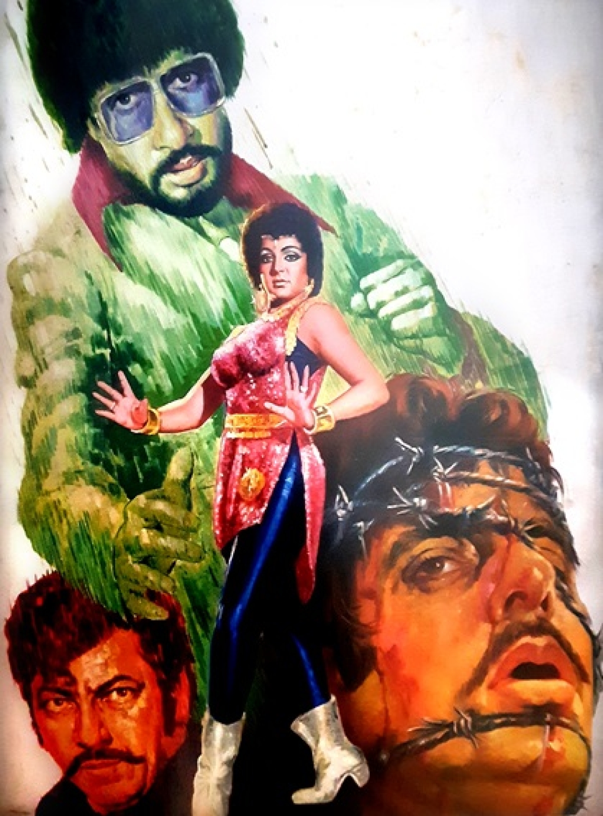 CinemaScope: Revisiting the era of hand-painted movie posters and hoardings