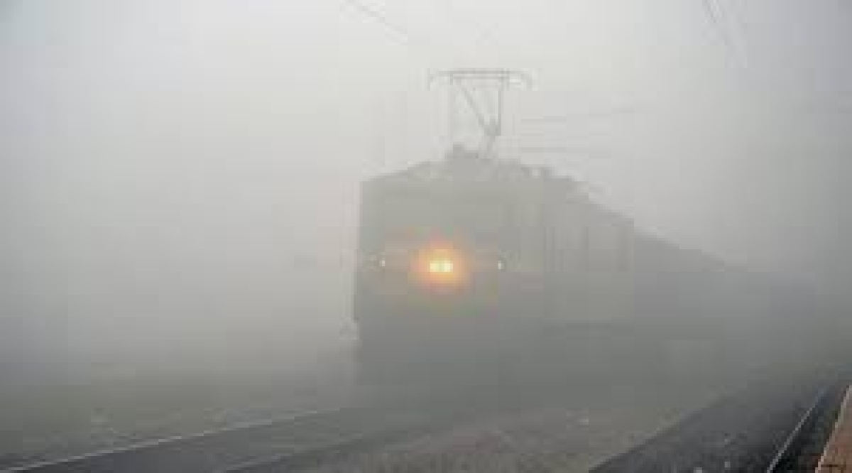 A misty morning near Indore