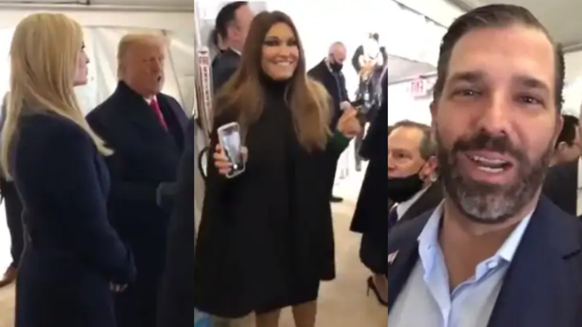 WATCH: Viral clip shows Trump family, White House officials celebrating shortly before US Capitol Hill siege
